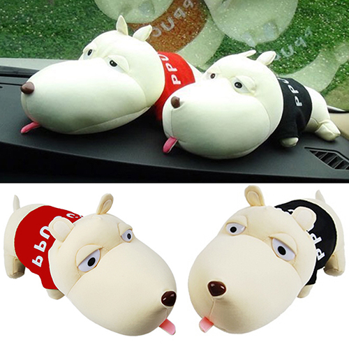 Girl12Queen Cute Cartoon Dog Bamboo Charcoal Bag Car Deodorant Air Purifying Useful Decor