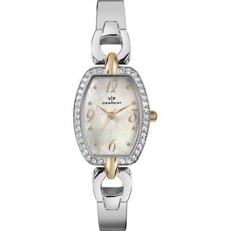 Women's 25mm Mother-of-Pearl Dial Watch, Silver-Tone Bracelet - Pearl Tone Dial