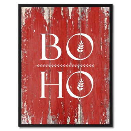 Boho Quote Saying Canvas Print Picture Frame Home Decor Wall Art Gift Ideas