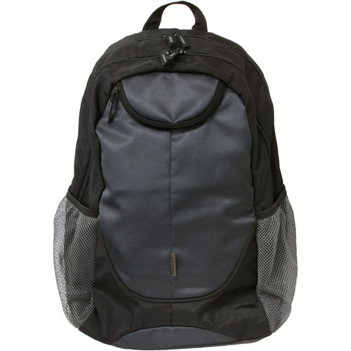 FileMate Reach Traveler Series Functional Backpack, Black/Grey