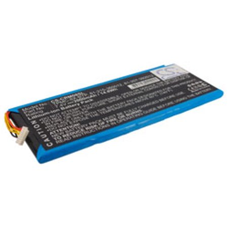 Replacement for CRESTRON TPMC-8X-BTP BATTERY replacement battery