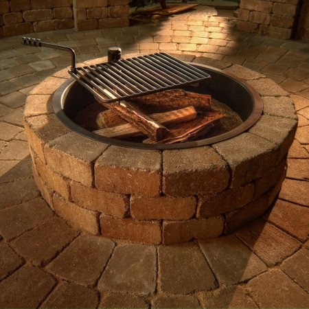 Necessories Compact Fire Ring with Grate ()