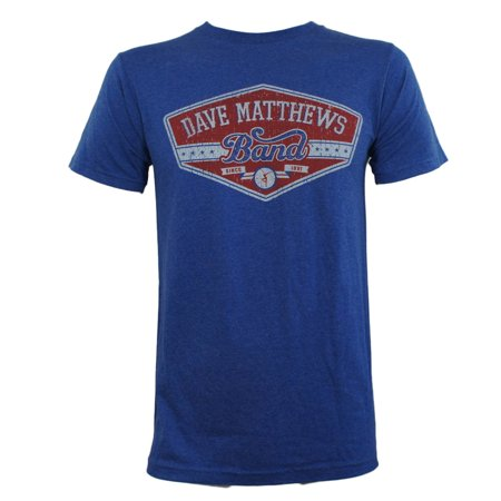 Dave Matthews Band Mens East Side Distressed Slim Fit T-Shirt