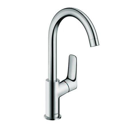 Hansgrohe 71130001 Logis Faucet Single Handle with Drain Assembly, Chrome - image 1 of 1