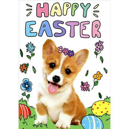 Avanti Press Corgi Cute Puppy Dog Easter Card](Cute Funny Puppys)