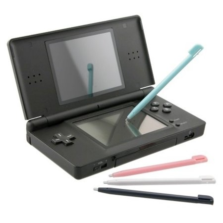 Insten 16-Pack Light Blue+White+Baby Pink+Black Touch Stylus For Nintendo DS Lite NDSL