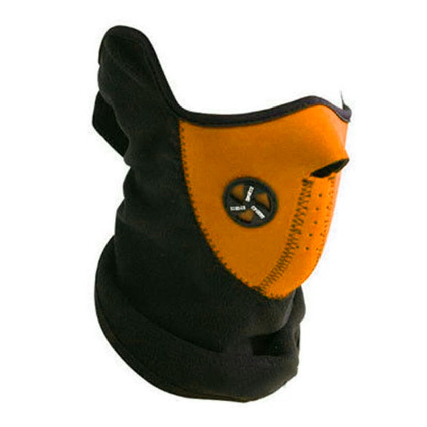 Sport Force Face and Neck Ski Mask-(One Pack Orange) by Unbranded
