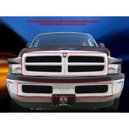 - Fedar Billet Grille Combo For 1999-2001 Dodge Ram Sport