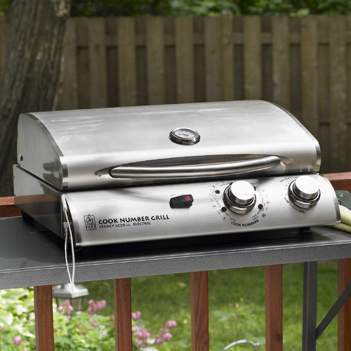 The Outdoor GreatRoom Company 20'' Legacy Cook Number Grill with Vinyl Cover