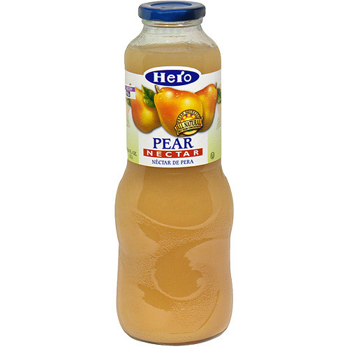 Hero Pear Nectar, 33.8 oz, 6ct (Pack of 6)