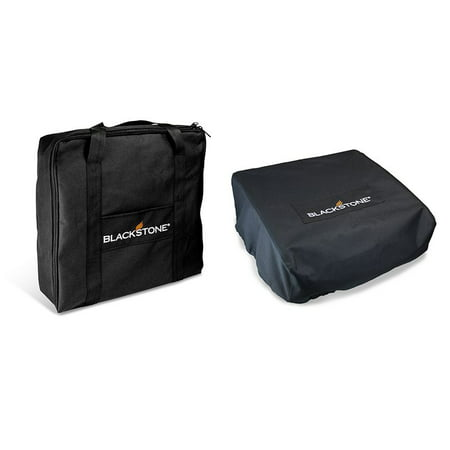 """BLACKSTONE 17"""" TABLE TOP GRIDDLE COVER & CARRY BAG SET"""