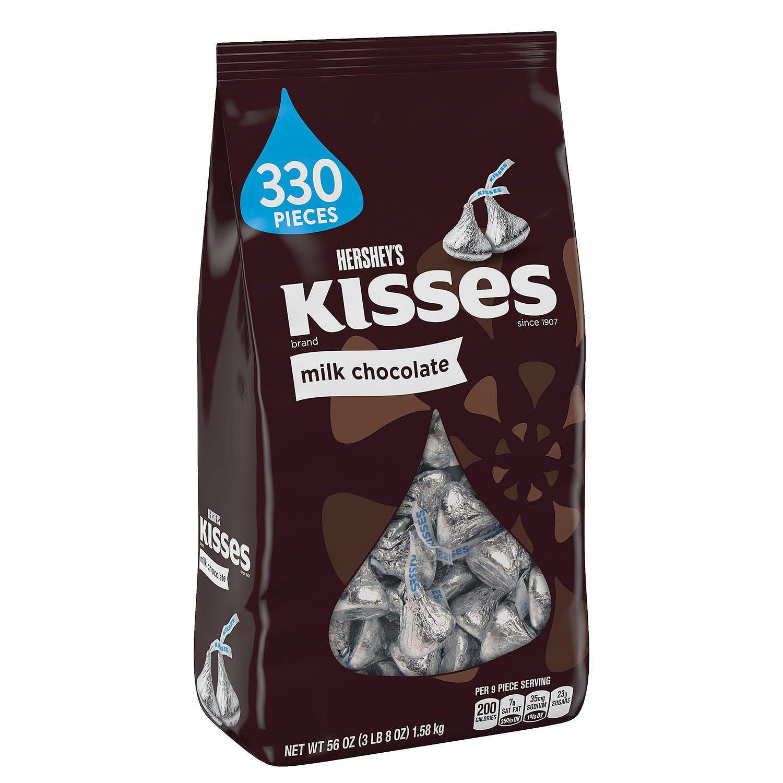 Hershey's Milk Chocolate Kisses, 330 Ct