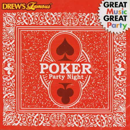 Drew's Famous Halloween Party Music Cd (Drew's Famous Poker Party Night Music CD)