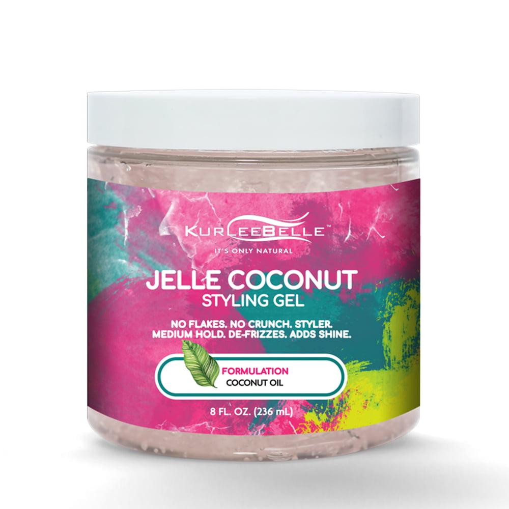 Kurlee Belle Jelle Coconut Styling Gel, 8 fl oz