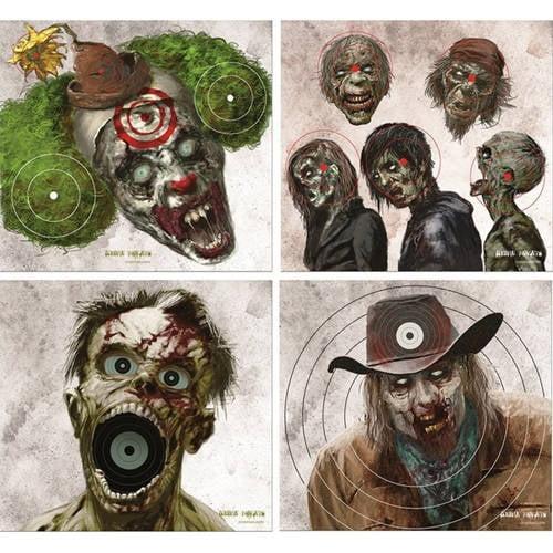 "Crosman Zombie 9.75"" x 9.0"" Shooting Targets, 20 count by Crosman Corporation"