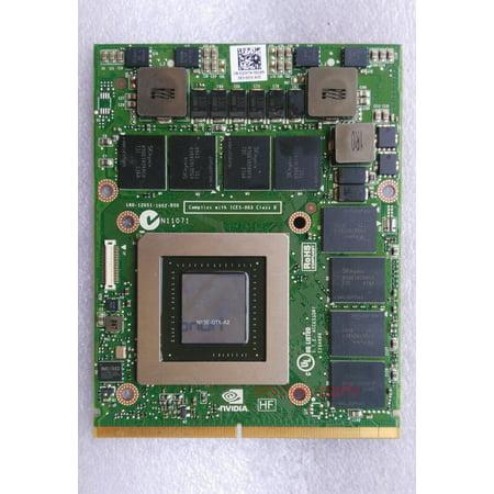 NVIDIA GeForce GTX 680M 2GB Video card N13E-GTX-A2 for DELL Alienware MSI CLEVO