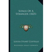 Songs of a Stranger (1825)