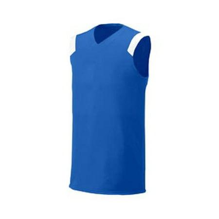 Moisture Management Jersey - A4 Drop Ship Youth Moisture Management V Neck Muscle Shirt