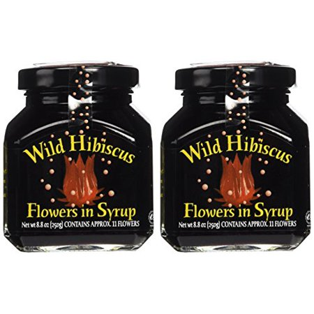 Wild Hibiscus Flowers In Syrup 88 Oz Pack Of 2 Walmartcom