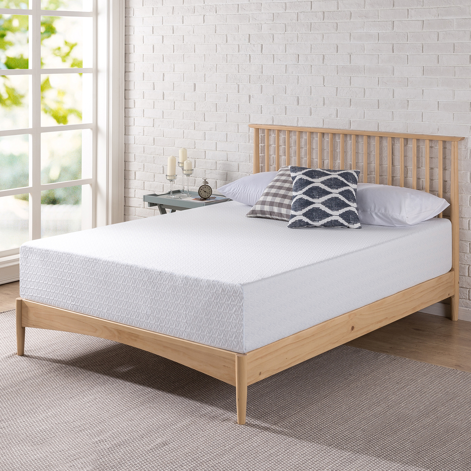 "Spa Sensations 11"" Gel Memory Foam Mattress"