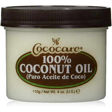 Cococare 100% Coconut Oil 4 oz (Pack of 3) (Derma Smoothe Fs Scalp Oil 0-01 Topical)