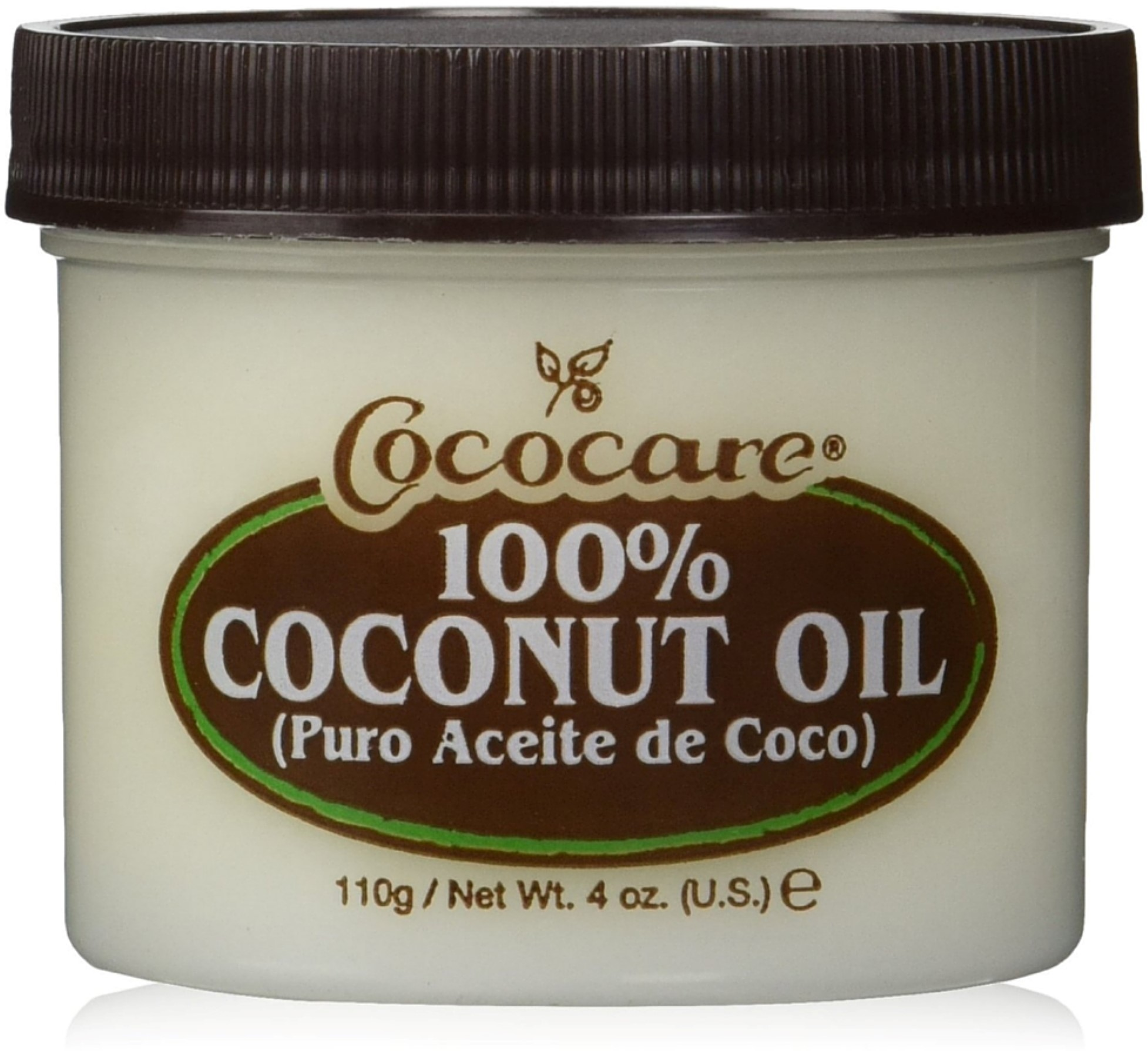 Cococare 100% Coconut Oil 4 oz (Pack of 2)