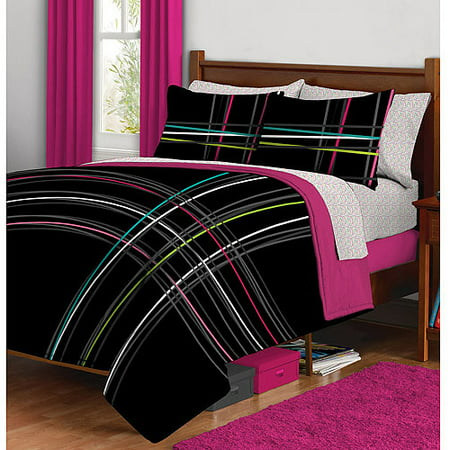 Mad Plaid Complete Bed in a Bag Bedding Set