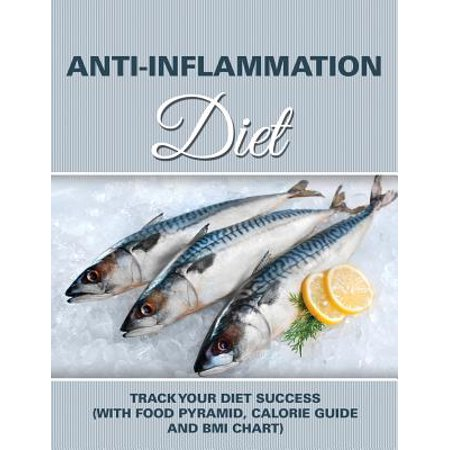 Anti-Inflammation Diet : Track Your Diet Success (with Food Pyramid, Calorie Guide and BMI Chart)