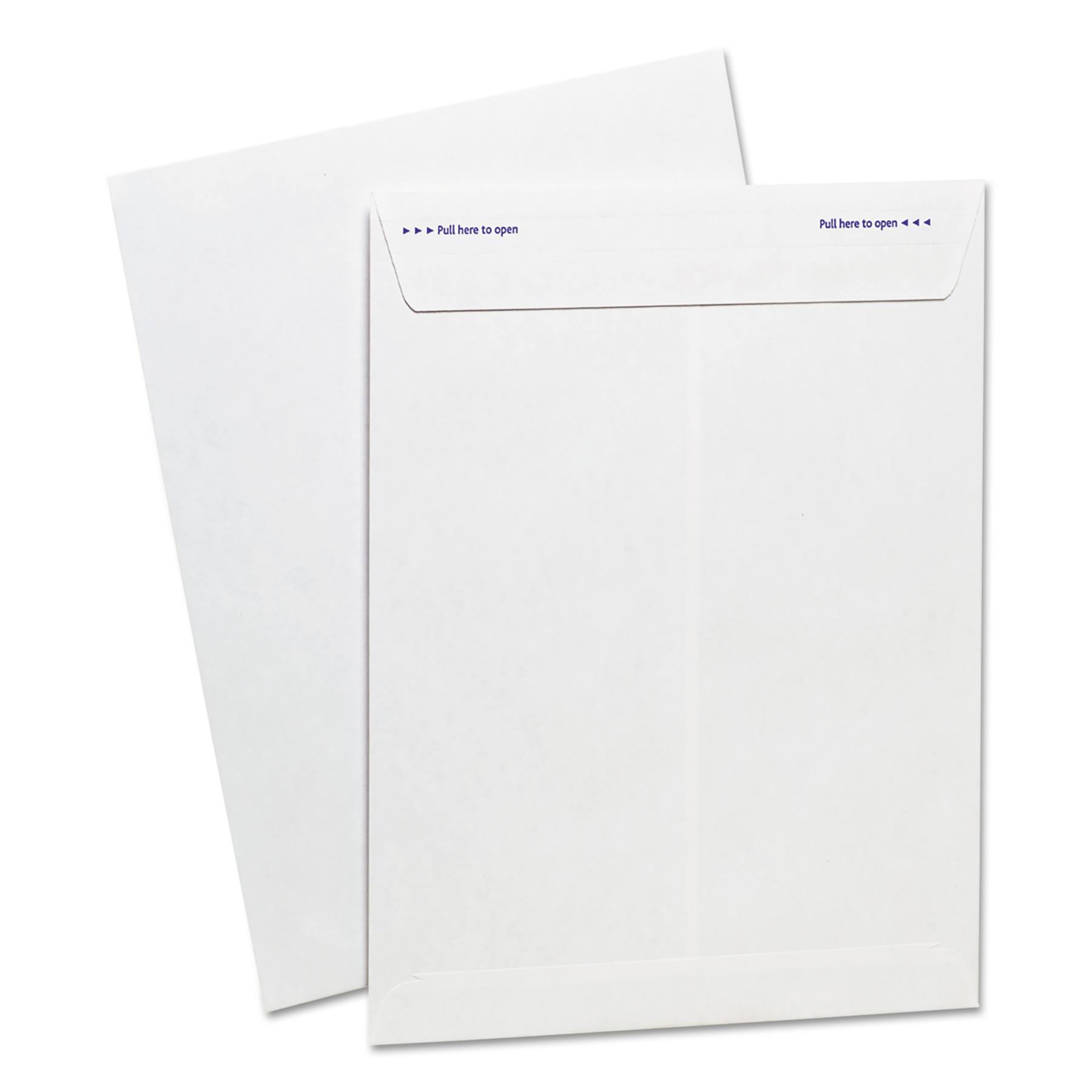 Ampad Gold Fibre Fastrip Release & Seal Catalog Envelope, 9 x 12, White, 100/Box