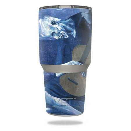 MightySkins Skin For Yeti 20 oz Tumbler - Almond Blossom | Protective, Durable, and Unique Vinyl Decal wrap cover | Easy To Apply, Remove, and Change Styles | Made in -