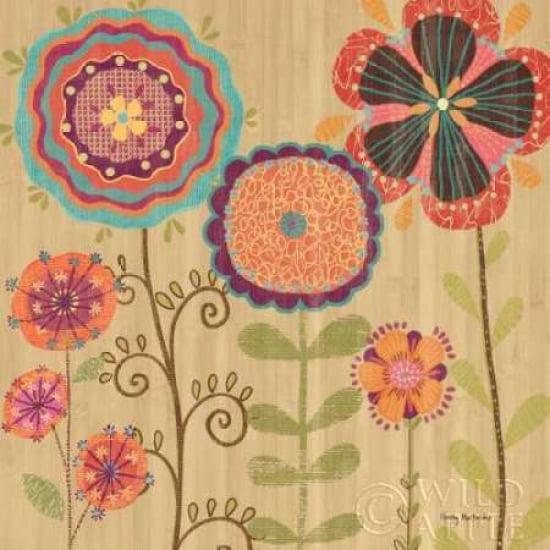 Folklore Garden II Canvas Art - Wendy MacFarlane (24 x 24)