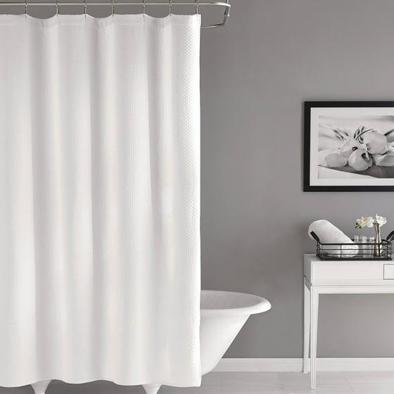 Hotel Style Matelasse Shower Curtain - Walmart.com