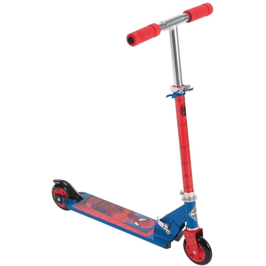 Marvel Ultimate Spider-Man Boys' 2-Wheel Inline Scooter by Huffy by Huffy