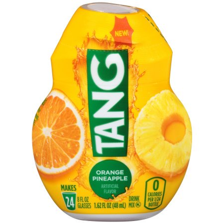 (12 Pack) Tang Orange Pineapple Liquid Concentrate Drink Mix, 1.62 fl oz Bottle