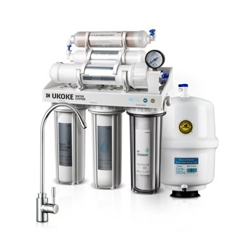 Ukoke 6 Stages Reverse Osmosis Water Filtration System