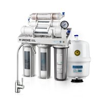 Ukoke 6 Stages Reverse Osmosis, Water Filtration System, 75 GPD