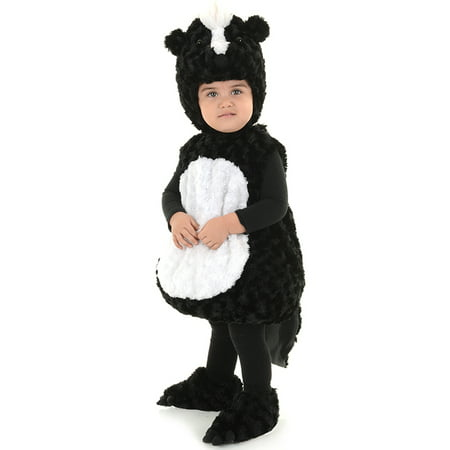 Little Stinker Toddler Childs Plush Black White Baby Skunk Halloween Costume