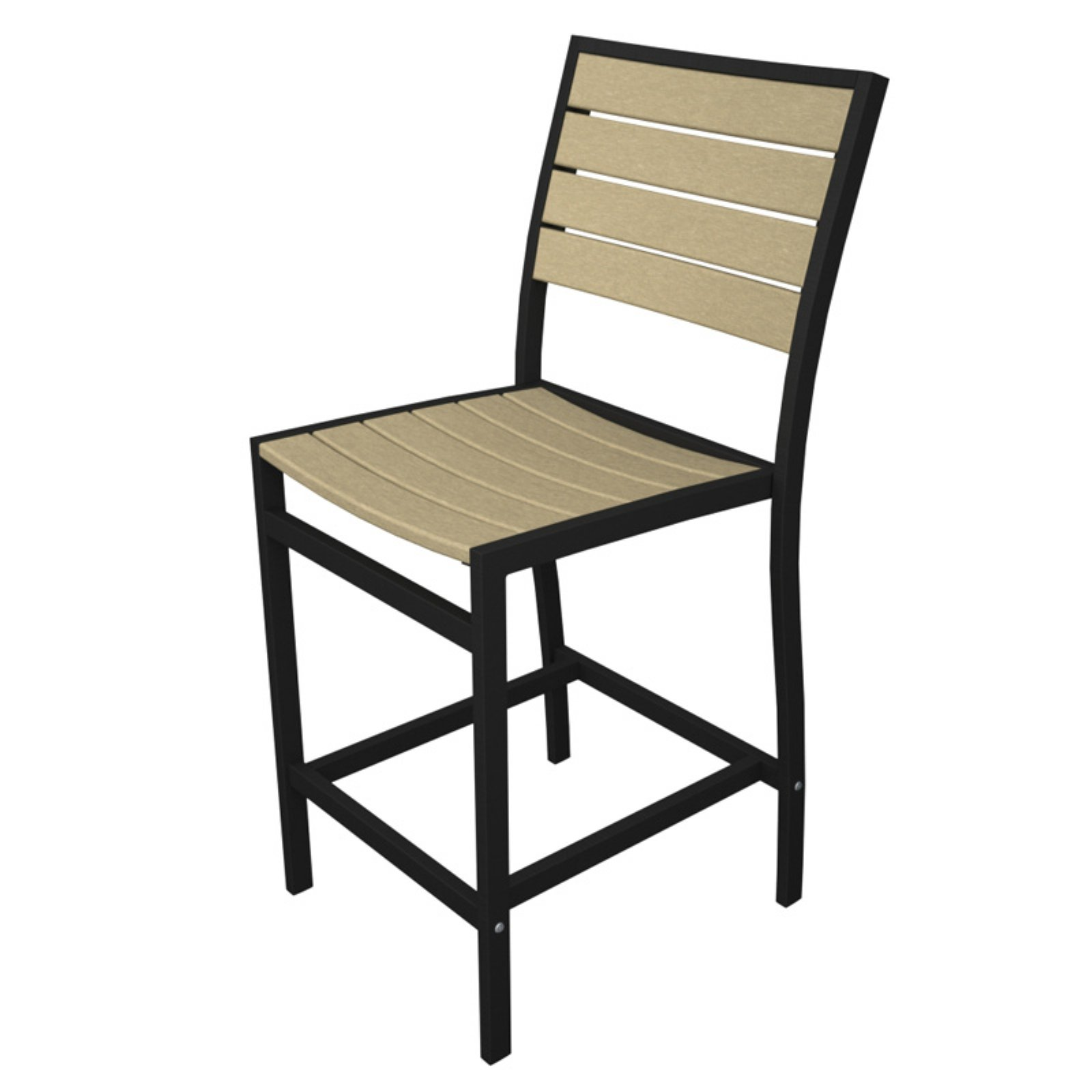 POLYWOOD® Euro Counter Height Side Chair