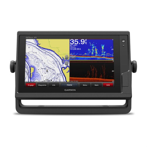 Garmin GPSMAP 942xs Chartplotter Sonar Combo with preloaded U.S. BlueChart g2 HD and LakeVu HD Charts by Garmin