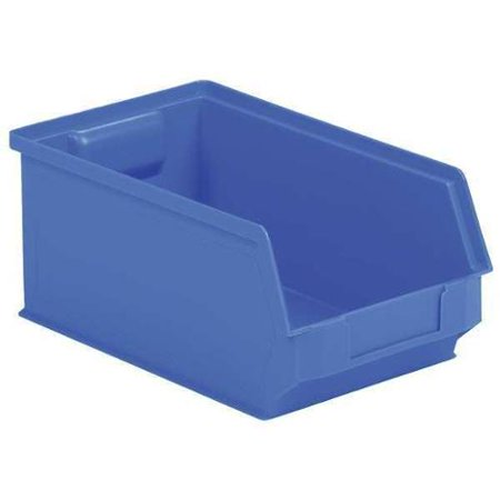 SSI SCHAEFER LF200606.0BL1 Hopper Bin,Stackable,Blue,6in.W,20in.L. (Cropper Hopper Photo Storage)
