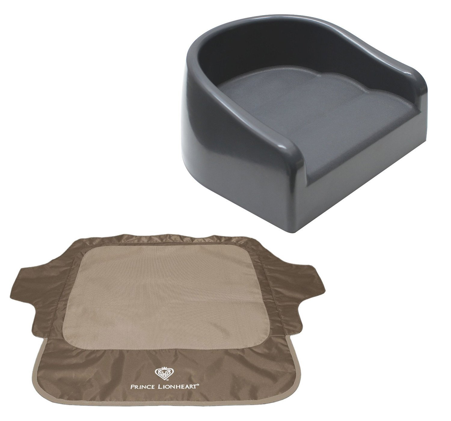 Prince Lionheart Soft Booster Seat with Seat Neat Chair C...