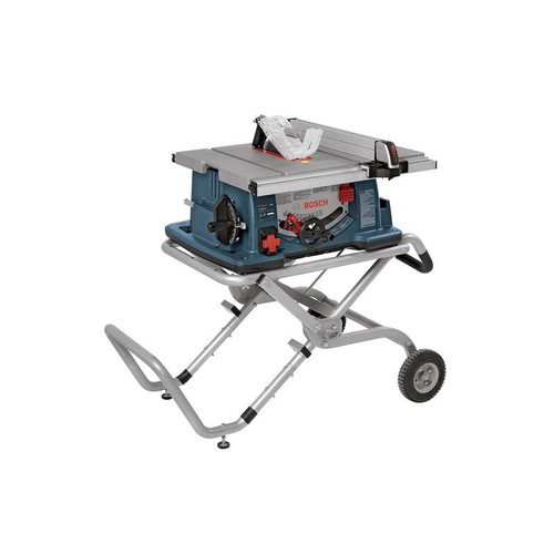 Bosch 4100-09 10 in. Worksite Table Saw w  Gravity-Rise Wheeled Stand by Bosch