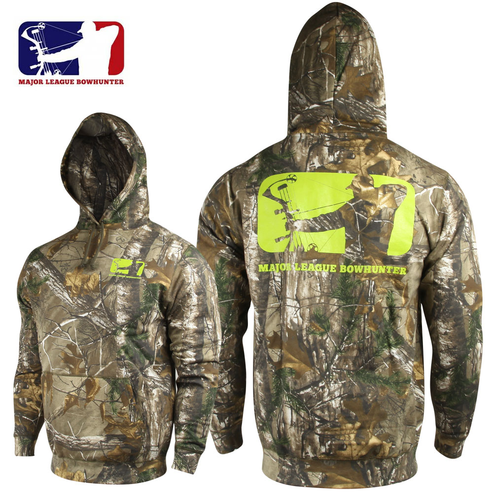 Major League Bowhunter Forgewood Hoodie (L)- RTX