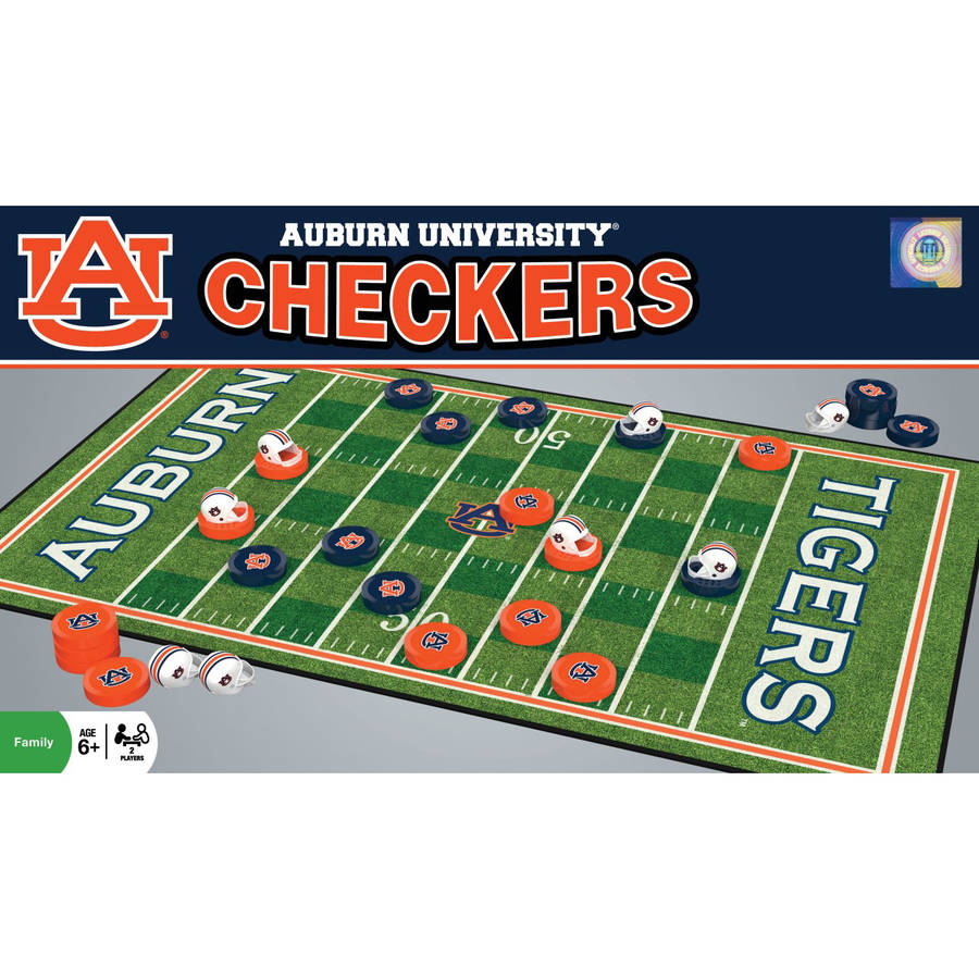 NCAA Auburn Tigers Team Checkers by Generic