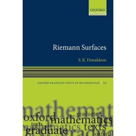Riemann Surfaces by Simon Donaldson