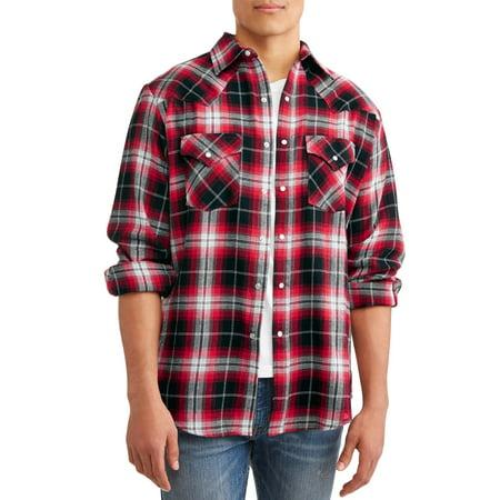 Small Flannel (Men's Long Sleeve Flannel Western)