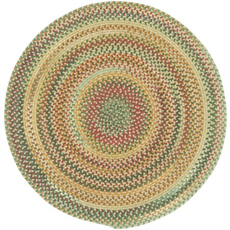 Sherwood Forest Round Braided Area Rug Walmart Com