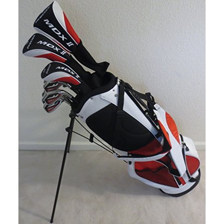 "Tall Mens Golf Set All Graphite Shafts Taylor Fit Complete Driver, Fairway Wood, Hybrid, Irons, Putter, Stand Bag Custom Made Clubs +1"" Length Regular Flex"