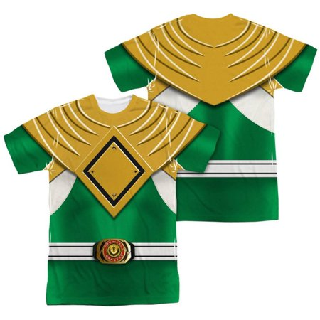 Power Rangers - Green Ranger (Front/Back Print) Apparel Sublimated -