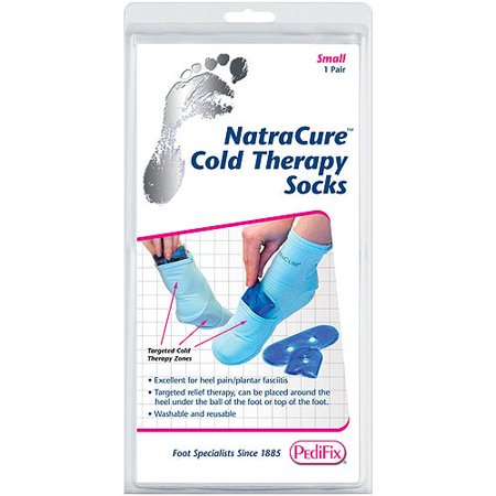 NatraCure Cold Therapy Socks, Small ()